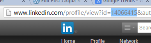 Finding LinkedIn's ID URL